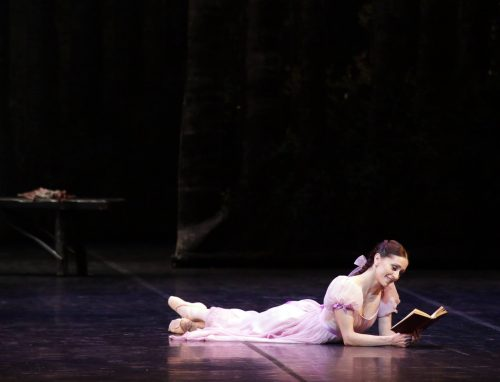 Marianela Núñez in Onegin, photo by Brescia e Armisano, Teatro aalla Scala 2017