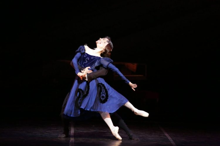Marianela Núñez with Roberto Bolle in Onegin, photo by Brescia e Armisano, Teatro aalla Scala 2017