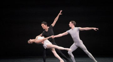 Tamara Rojo, Jeffrey Cirio and Jospeph Caley in Song of the Earth © Laurent Liotardo (4)