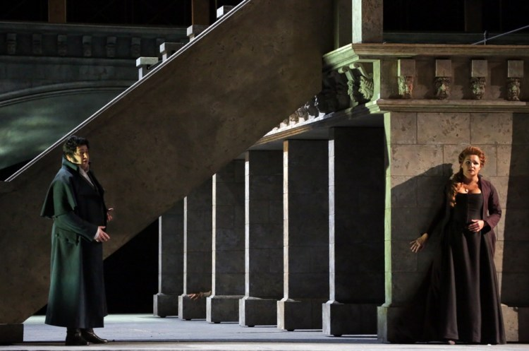 Andrea Chénier, Yusif Eyvazov e Anna Netrebko © Brescia e Amisano,Teatro alla Scala 2017
