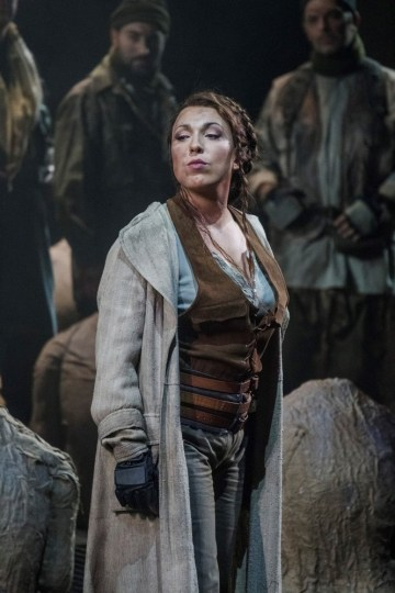 Maria José Siri as Odabella in Attila at the Teatro Comunale di Bologna © Rocco Casaluci, 2016