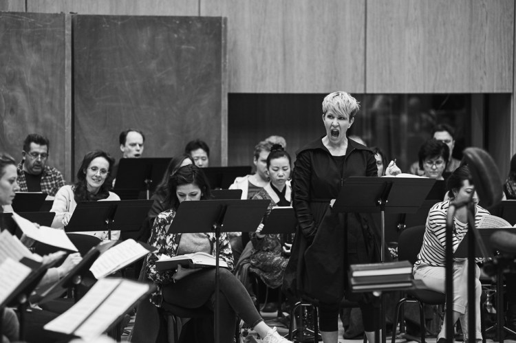 Rehearsing Les Troyens, Joyce DiDonato, © Grégory Massat