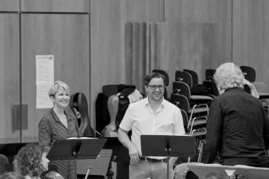 Rehearsing Les Troyens, Joyce DiDonato and Michael Spyres, © Grégory Massat