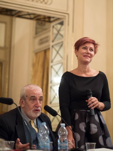 Sabino Lenoci and Veronica Simeoni