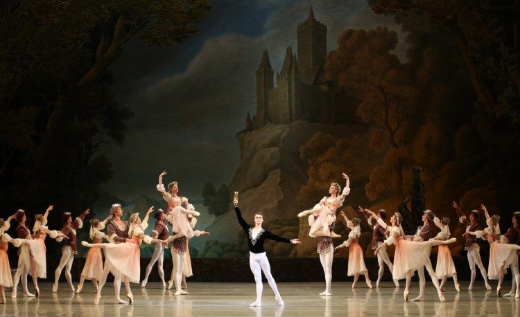 Philipp Stepin in Swan Lake by Natasha Razina © State Academic Mariinsky Theatre
