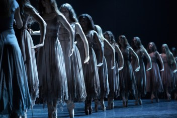English National Ballet in Akram Khan's Giselle © Laurent Liotardo 01