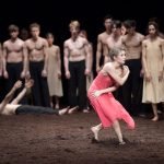 Finalists of English National Ballet's Emerging Dancer competition at the London Coliseum in June