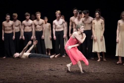 Francesca Velicu in Pina Bausch's Le Sacre du printemps with English National Ballet © Laurent Liotardo