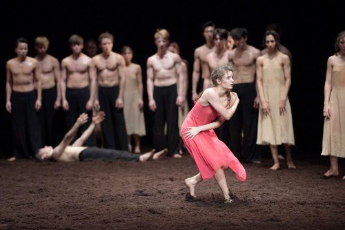 Francesca Velicu in Pina Bausch's Le Sacre du printemps with English National Ballet © Laurent Liotardo