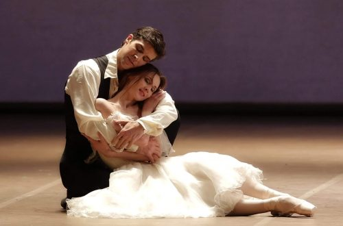 La Dame aux Camélias, with Roberto Bolle and Svetlana Zakharova, photo by Brescia e Amisano, Teatro alla Scala 2017