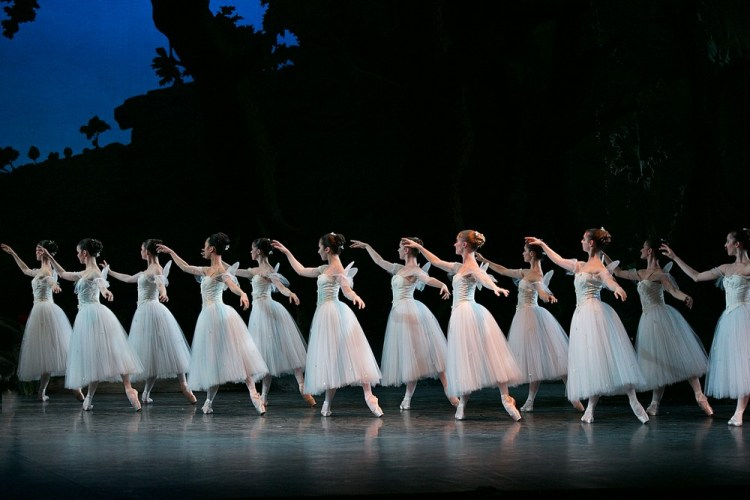 La Sylphide, English National Ballet, photos by Dasa Wharton 11