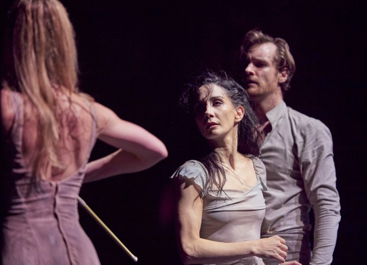 Tamara Rojo and James Streeter in Akram Khan's Giselle © Laurent Liotardo