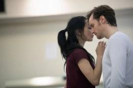 Tamara Rojo and James Streeter rehearsing Akram Khan's Giselle © Laurent Liotardo