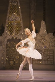 The Nutcracker. Francesca Hayward as The Sugar Plum Fairy. ©ROH 2016. Photo by Helen Maybanks
