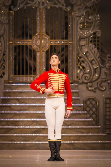 The Nutcracker. James Hay as Hans Peter The Nutcracker. ©ROH 2016. Photo by Helen Maybanks