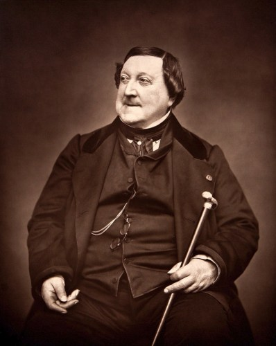 Rossini in 1865