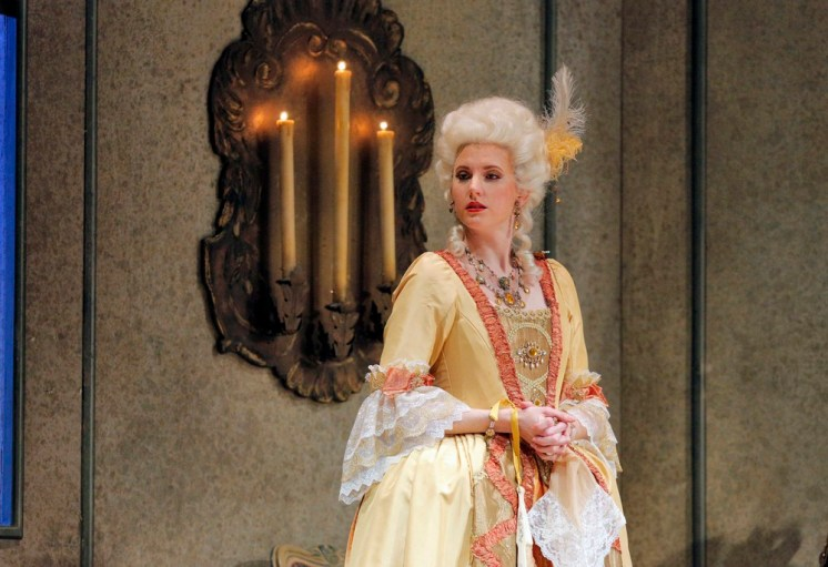 Amanda Majeski as Marschallin in Der Rosenkavalier at Lyric Opera of Chicago, 2016 © Cory Weaver