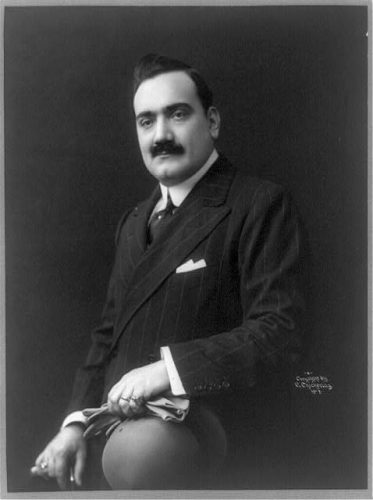 Enrico Caruso, 1907