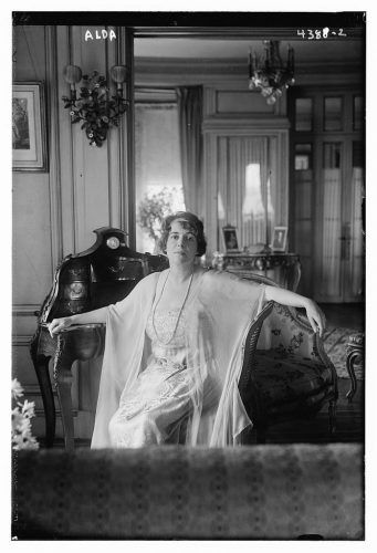 Frances Alda between 1915 and 1920 George Grantham Bain Collection (Library of Congress)