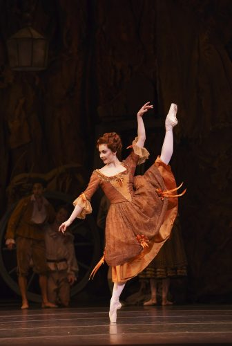 Manon with Claire Calvert as Lescaut's Mistress ©ROH, 2018, photo by Bill Cooper