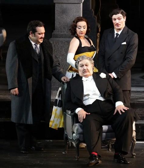 Don Pasquale with Barbera, Feola, Maestri and Olivieri © Brescia e Armisano, Teatro alla Scala 2018