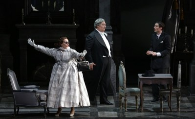 Don Pasquale with Feola, Maestri and Olivieri © Brescia e Armisano, Teatro alla Scala 2018 01