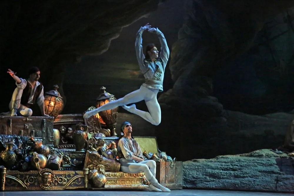 Le Corsaire, Timofej Andrijashenko, photo Brescia e Amisano, Teatro alla Scala 2018