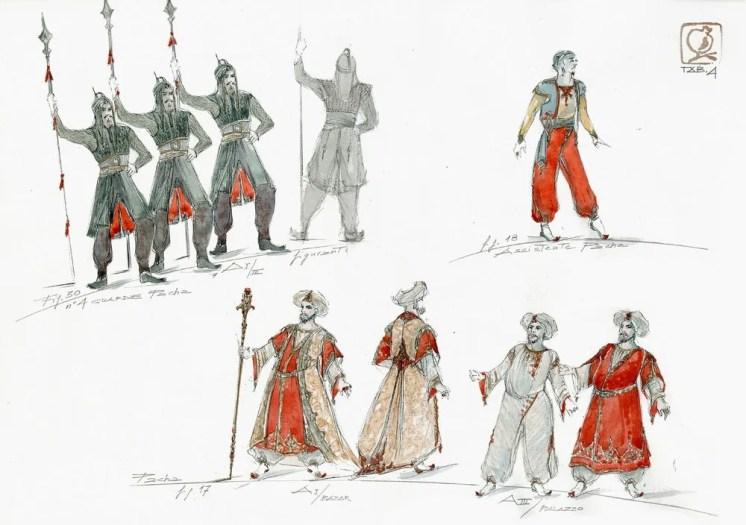 Le Corsaire designs by Luisa Spinatelli (5)