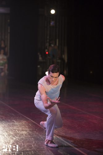 Steven Lock © Angela Stirling for Pacific Northwest Ballet