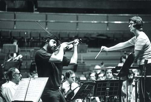 1973 Prom concert with Thea Musgrave conducting and her husband Peter Mark performing her Viola Concerto