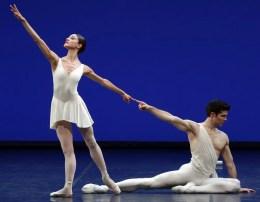 Apollo choreography by George Balanchine© The George Balanchine Trust Roberto Bolle, Nicoletta Manni, photo by Brescia e Amisano Teatro alla Scala