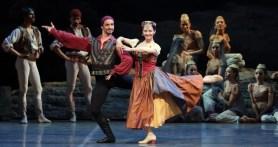 Le Corsaire with Federico Fresi and Emanuela Montanari, photo by Brescia & Amisano, Teatro alla Scala 2018
