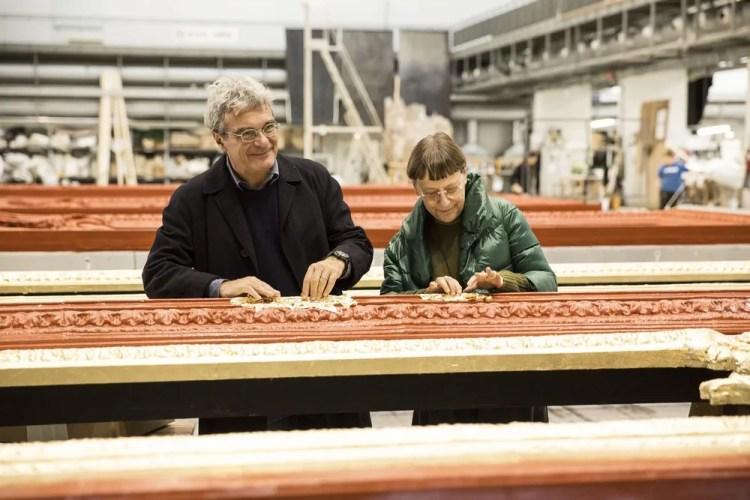 Mario Martone and Margherita Palli, photo by Brescia e Amisano