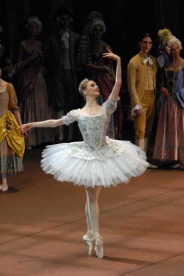 Svetlana Zakharova The Sleeping Beauty photo by Marco Brescia, Teatro alla Scala