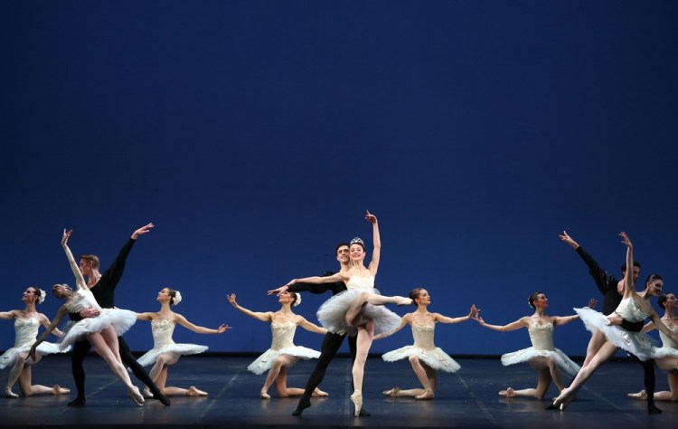 Symphony in C by George Balanchine © School of American Ballet