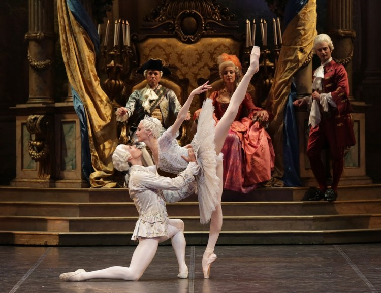 The Sleeping Beauty with Svetlana Zakharova and Germain Louvet, photo by Brescia e Amisano, Teatro alla Scala (3)