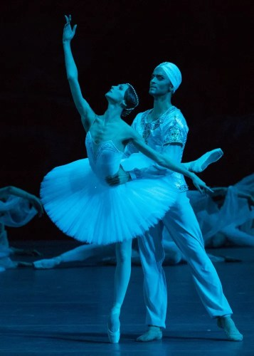 Denis Rodkin And Svetlana Zakharova In La Bayadére, Photo By Mikhail Logvinov, 2016