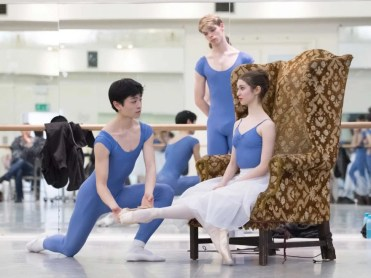 Riku Yamamoto, Maria Del Mar Bonet Sans And James Hobley In Rehearsals For My First Ballet Cinderella © Photography By Ash