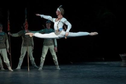 Semyon Chudin As Solor In La Bayadére, Photo By Mikhail Logvinov, 2012
