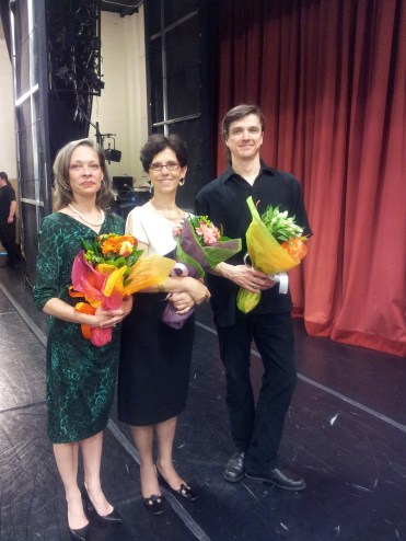 End of year performance at Tulsa Ballet with Faculty members Stephanie Murrish and Daniil Gaifullin, 2015