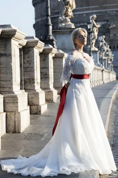 Carmen Giannattasio At Rome's Castel Sant'angelo, Photo By Fiorenzo Niccoli