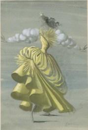 Riflessi nell'oblio di Respighi, choroegraphy Milloss, Teatro alla Scala, 1952