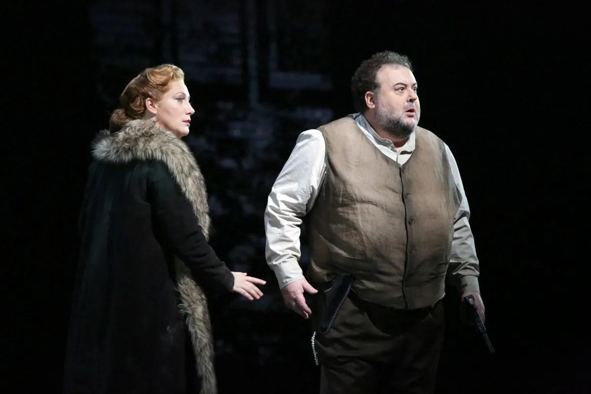 Attila, Teatro alla Scala with Saioa Hernandez and Fabio Sartori photo Brescia e Amisano, Teatro alla Scala 2018 09