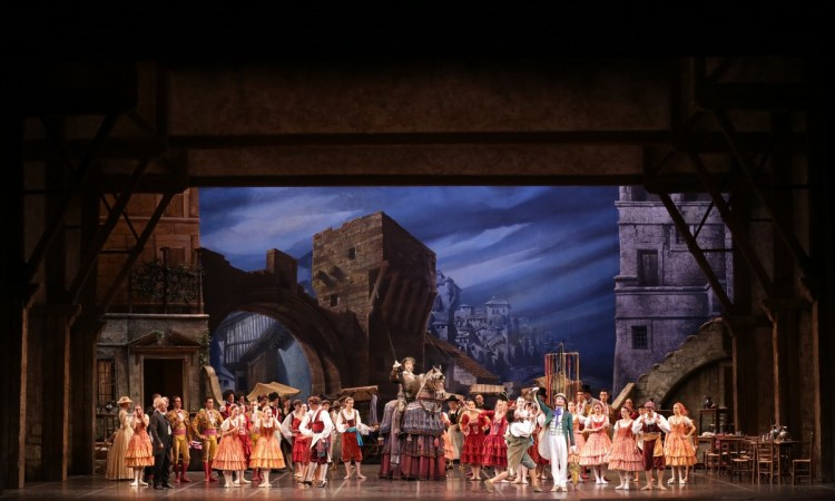 Don Quixote photo by Brescia e Amisano, Teatro alla Scala