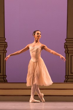 Francesca Hayward in Rhapsody, The Royal Ballet © 2016 ROH. Photograph by Helen Maybanks