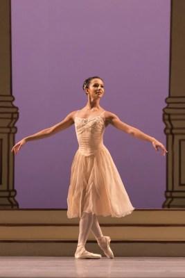 Francesca Hayward in Rhapsody, The Royal Ballet © 2016 ROH. Photograph by Helen Maybanks