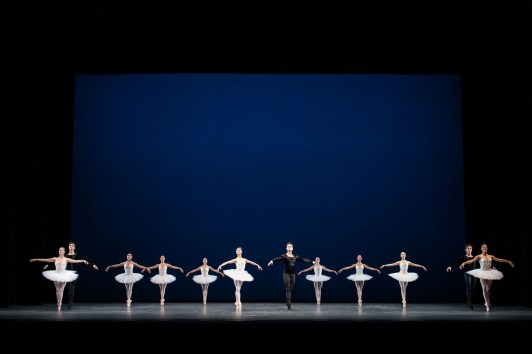 Symphony in C. Artists of The Royal Ballet ©ROH, 2018. Photographed by Helen Maybanks