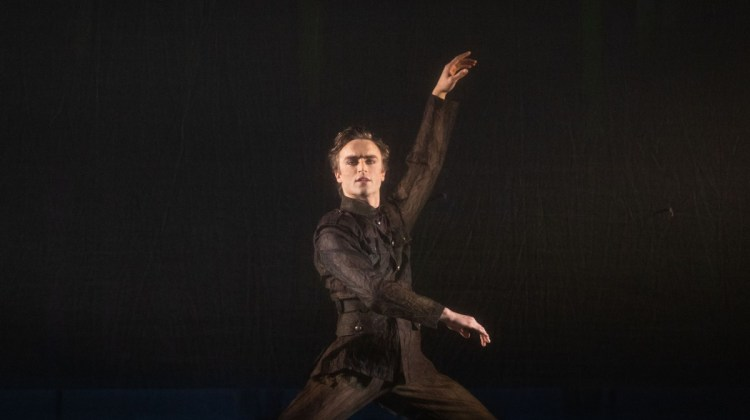 The Unknown Soldier. Matthew Ball as Ted Feltham ©ROH, 2018. Photographed by Helen Maybanks