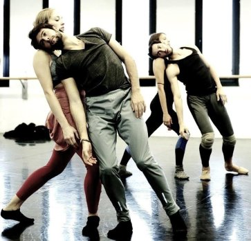 Angelin Preljocaj's Winterreise, rehearsal photo by Brescia and Amisano, Teatro alla Scala 2018 19