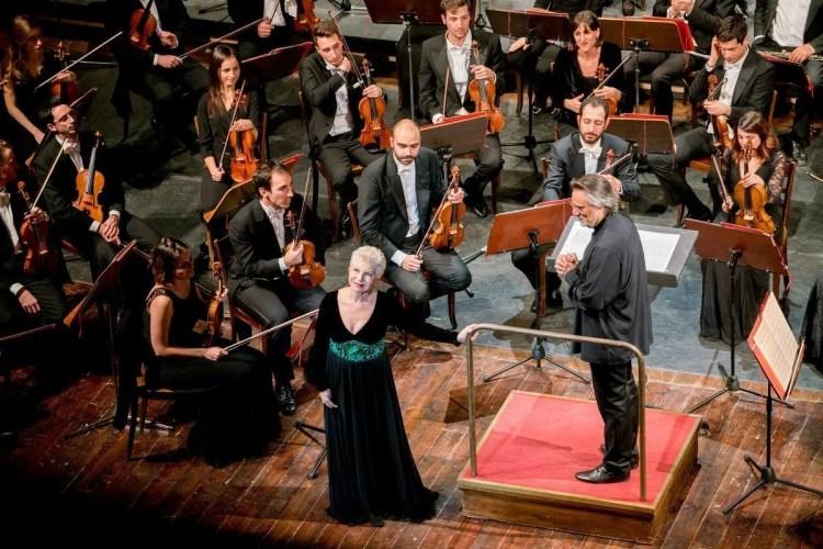 Mariella Devia e Giuseppe Sabbatini, photo by Gianfranco Rota, Donizetti Opera 2018